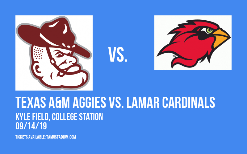 PARKING: Texas A&M Aggies vs. Lamar Cardinals at Kyle Field