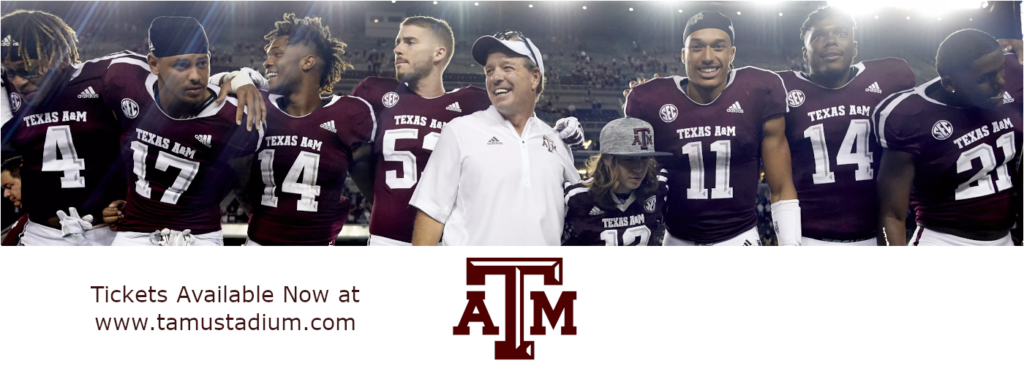 Texas A&M Aggie Tickets