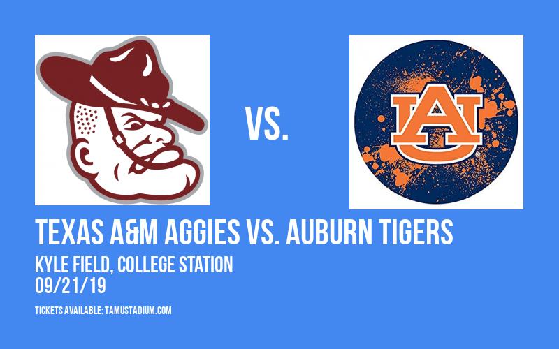 PARKING: Texas A&M Aggies vs. Auburn Tigers at Kyle Field
