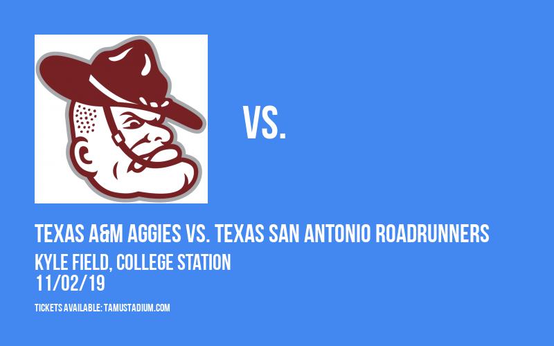 PARKING: Texas A&M Aggies vs. Texas San Antonio Roadrunners at Kyle Field