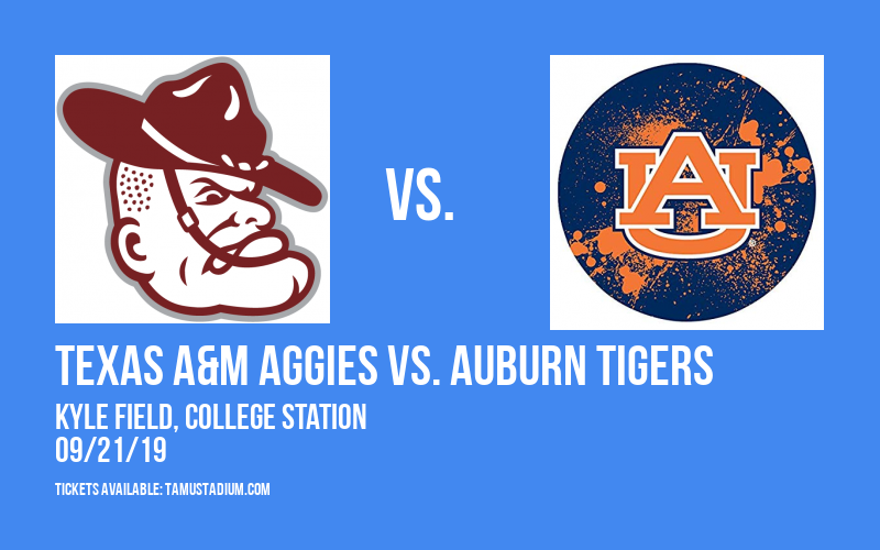 Texas A&M Aggies vs. Auburn Tigers at Kyle Field