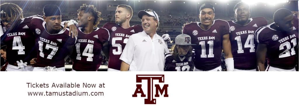 Texas A&M Aggie Tickets