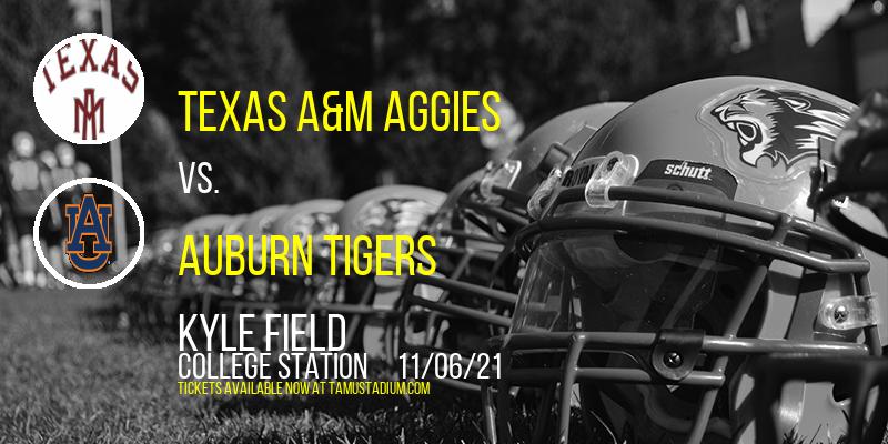 Texas A&M Aggies vs. Auburn Tigers at Kyle Field